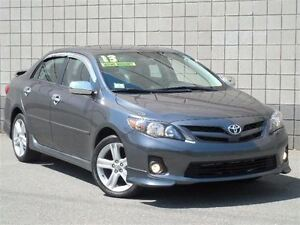 2013 Toyota Corolla S, Sport Nav, Leather, 33Kms
