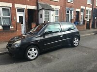 Renault Clio 1.2l Black Well Looked After