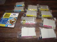 11 Brand new Printer Cartridges for Epson T0424, stylus C82, CX5100, CX5200, CX5300, CX5400 (1 x Jet