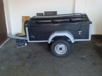 car trailer ideal for camping or car boots and general use