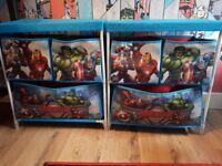 Avengers toy units