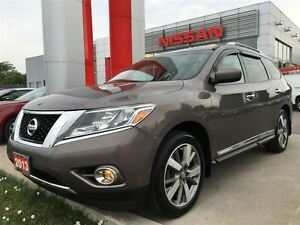 2013 Nissan Pathfinder Platinum, NAVIGATION, HEATED STEERING WHE