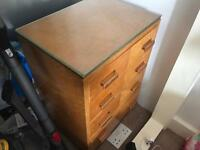 Beresford & Hicks of London mini chest of drawers