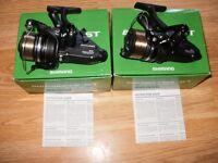 pair shimano ST2500FB baitrunners