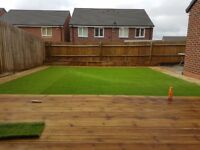 SLABBING / FENCING / DECKING / TURFING / FAKE TURF / TREES LOPPED OR FELLED / TAKE A LOOK BELOW !!
