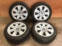 Genuine BMW Winter wheels and tyres 205/55 R16 91H