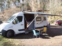 2011 Vauxhall Movano Campervan - Motorcyclist and Kayaker friendly :)