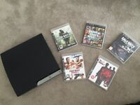 PS3 and games with one control for sale