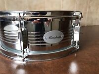 "Beautiful 14"" chrome snare drum 6"" deep"