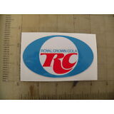 """Vintage RC Cola sticker decal sign 4""""x2.4"""""""