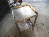 Stainless Steel table , gardening , workshop use