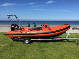 XS500 ( 5 MTR ) RIB Boat for sale