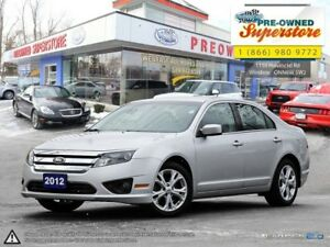 2012 Ford Fusion SE ~~LOW KMS, LOCAL TRADE~~