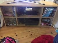Glass Fronted TV stand Imaculate Condition