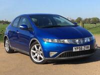 Automatic - Honda Civic 1.8 AUTO i-VTEC Sport i-Shift -- Part Exchange OK-- Drives Good