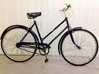 Vintage Stunning Condition Serviced BSA ..Hub gears Hand Operated breaks