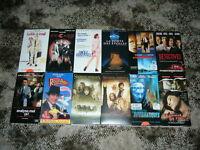 Cassettes de films VHS (12) à vendre