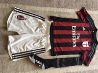 AC Milan replica strip 2015/16 season Boys 9-10y