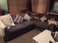 Comfy, stylish corner sofa.
