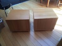 small good-quality chests of drawers (2)