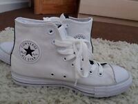 Converse All star 7 worn once white
