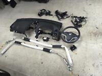 2013 Vauxhall antara complete airbag kit