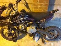 2x 110 stomp pit bikes