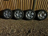 Winter Tyres with Wheels for VW Golf 1V