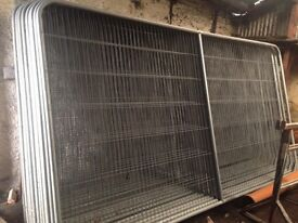 Heras type site fence panels (site screens)