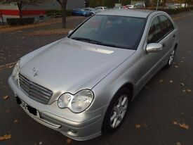 QUICK SALE-Mercedes-Benz C Class 1.8 C180 Kompressor Classic SE 4dr 2006 or SWAP for VAN