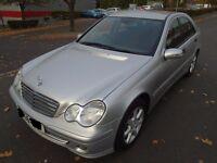 QUICK SALE-Mercedes-Benz C Class 1.8 C180 Kompressor Classic SE 4dr 2006 or SWAP for VAN