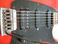 Ibanez RG140 Roadstar II electric guitar - Red - Japan - '80s