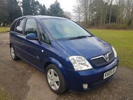 ** 2005 Vauxhall Meriva Design 1.8 Full years MOT **