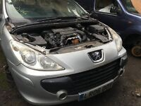 PEUGEOT 307 S HDI 110 2006- FOR PARTS ONLY