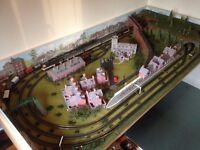 OO Gauge Model Railway Layout In full working order