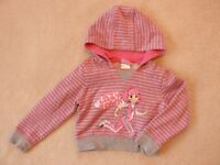 Girl bundle sweatshirt, sleeveless wool coat, wool waistcoat for 2-3 years £3.50