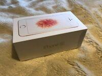 Secondhand Iphone SE 16gb rose gold