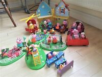 Peppa Pig - range of sets all very good condition. £25 o.n.o.