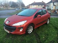 Peugeot 308 mint condtion 59 plate hpi clear