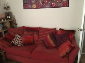 2-3 seater sofa and chair