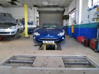 Successful Car Repair Garage and MOT Centre For Sale in Drighlington, West Yorkshire