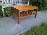 Mid Century Teak Coffee Table Herbert e Gibbs