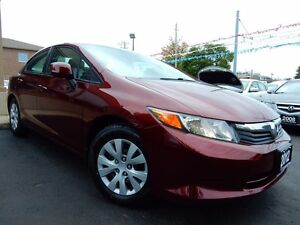 2012 Honda Civic LX | AUTOMATIC | ALL POWER OPTIONS | BLUETOOTH