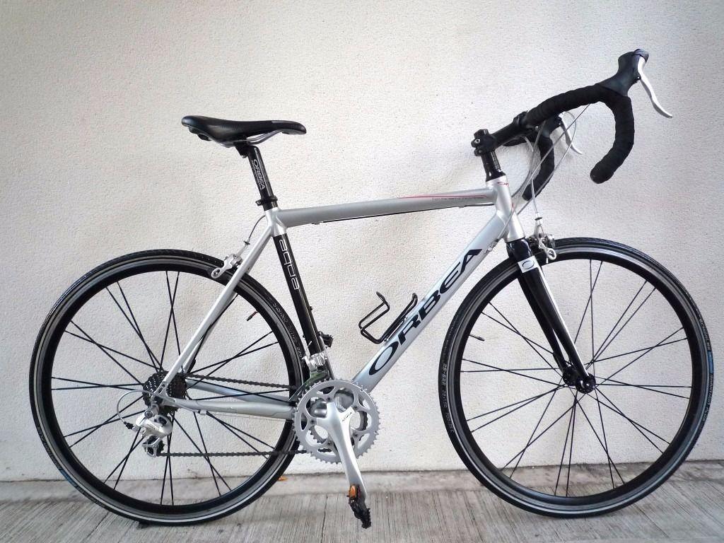 2208 700c 54cm Lightweight Aluminium Orbea Aqua Road Bike Bicycle