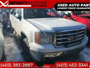 2008 GMC SIERRA FOR PARTS PARTING OUT CARS CAR PARTS
