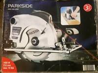 Parkside PHKS 1450 Laser Circular Saw ONLY £50