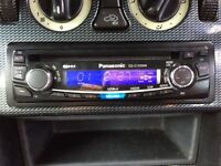 Panasonic car CD player stereo in very good condition fully working