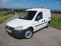 Vauxhall Combo Van 76k ~ Side door ~ Towbar ~ Roofrack ~ Lined ~ LONG MOT ~ NO VAT.