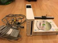 Nintendo wii console complete with all cables and games