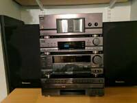 Sony Sound System + 2x Technics Speakers